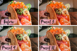 10 Mobile Presets FOOD BLOGGER