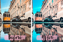Load image into Gallery viewer, Mobile Lightroom Presets - 1 preset - Caribbean, moody presets, presets lightroom for Instagram, lightroom preset, instagram presets - KatManDooPRESETS
