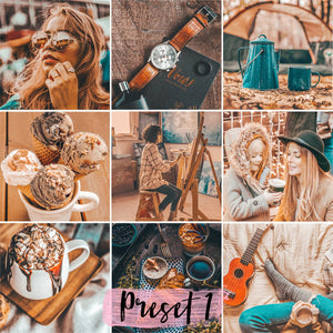 3 Lightroom Presets Hot Chocolate - KatManDooPRESETS