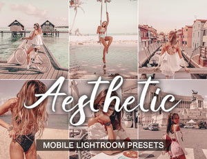 7 Mobile Lightroom Presets AESTHETIC instagram presets and light room presets | beach presets and blogger presets | warm presets mobile - KatManDooPRESETS