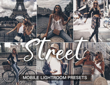 Load image into Gallery viewer, 3 Lightroom Presets - Street mobile presets - KatManDooPRESETS