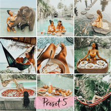 Load image into Gallery viewer, 7 Desktop Lightroom Presets BALI instagram presets | tropical preset and vacation preset | preset for lightroom - KatManDooPRESETS