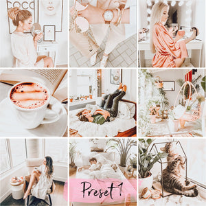 7 Lightroom Desktop Presets COZY instagram presets and blogger presets | wedding presets and moody presets download - KatManDooPRESETS