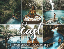 Load image into Gallery viewer, 1 Preset for Lightroom Mobile EAST - KatManDooPRESETS