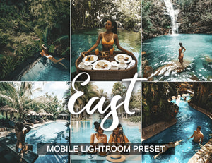 1 Preset for Lightroom Mobile EAST - KatManDooPRESETS