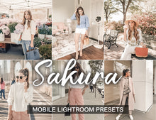 Load image into Gallery viewer, 3 Lightroom Presets - Sakura mobile presets - KatManDooPRESETS