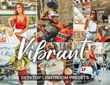 Load image into Gallery viewer, 5 Desktop Lightroom Presets VIBRANT lightroom cc presets amber, presets bundle, presets for lightroom desktop, lightroom wedding presets - KatManDooPRESETS