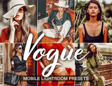 Load image into Gallery viewer, 3 Lightroom Presets - Vogue Mobile Presets - KatManDooPRESETS