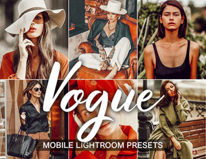 3 Lightroom Presets - Vogue Mobile Presets - KatManDooPRESETS