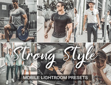 Load image into Gallery viewer, 3 Lightroom Presets - Strong Style mobile presets - KatManDooPRESETS