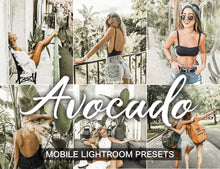 Load image into Gallery viewer, 3 Lightroom Presets Avocado - lightroom mobile preset - KatManDooPRESETS