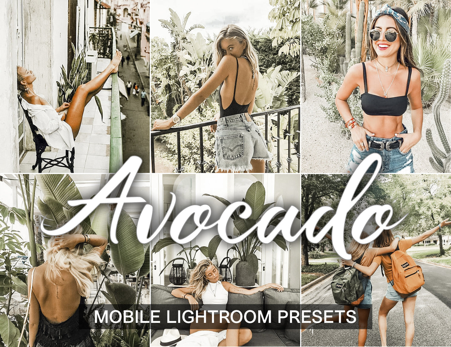 3 Lightroom Presets Avocado - lightroom mobile preset - KatManDooPRESETS