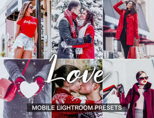 3 Lightroom Presets Love mobile presets - KatManDooPRESETS