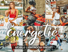 Load image into Gallery viewer, 15 Mobile Presets ENERGETIC - KatManDooPRESETS