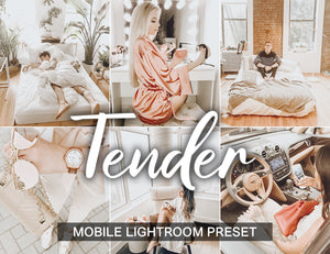 2 Lightroom Preset Mobile TENDER - KatManDooPRESETS