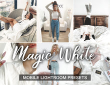 Load image into Gallery viewer, 3 Lightroom Presets - Magic White - KatManDooPRESETS