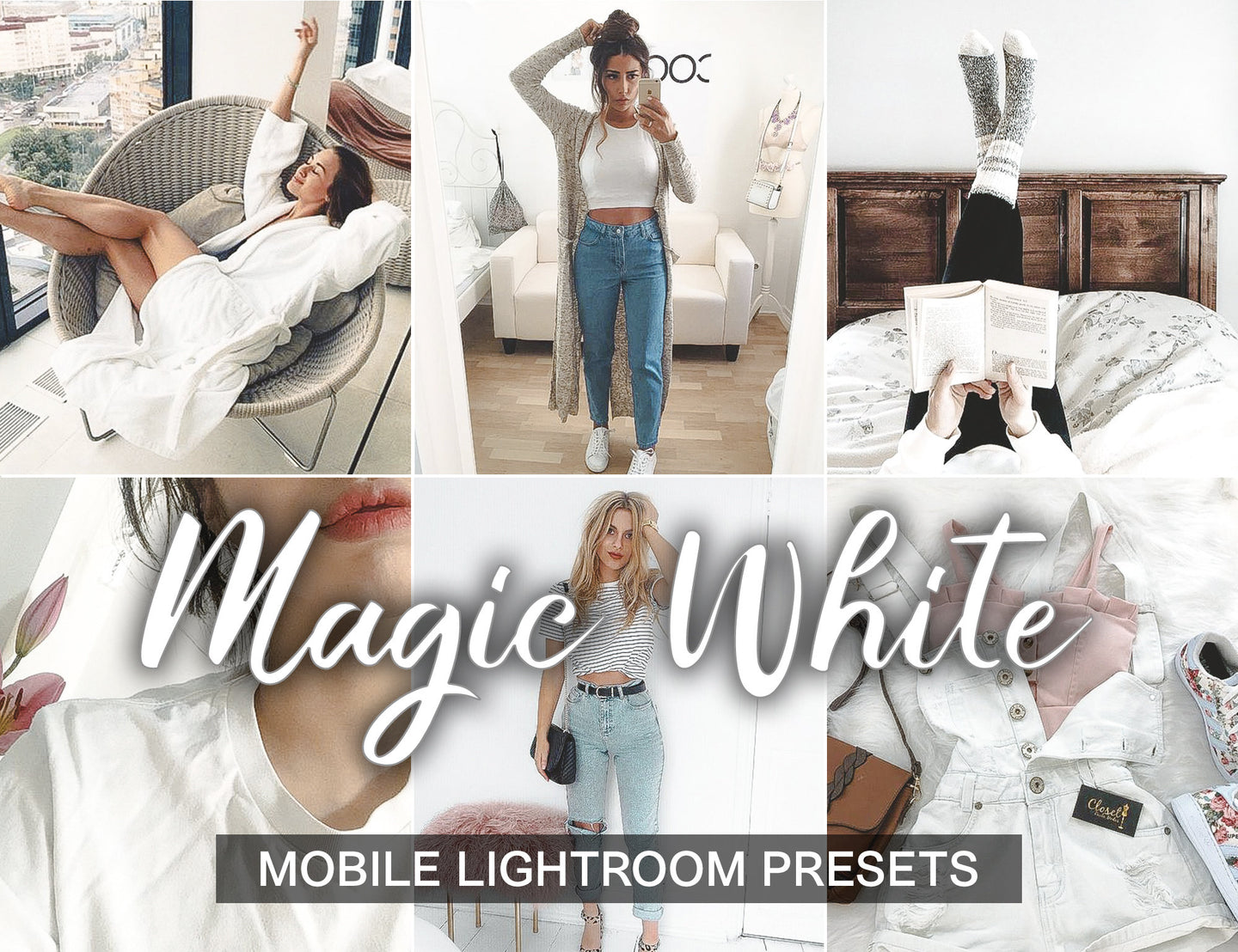 3 Lightroom Presets - Magic White - KatManDooPRESETS