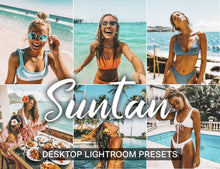 Load image into Gallery viewer, 10 Lightroom Presets Desktop SUNTAN - KatManDooPRESETS