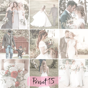 15 Wedding Lightroom Presets Mobile - KatManDooPRESETS