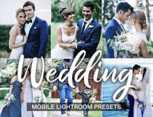 Load image into Gallery viewer, 15 Wedding Lightroom Presets Mobile - KatManDooPRESETS