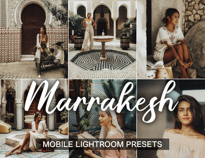3 lightroom presets - Marrakesh - Mobile Lightroom Presets - KatManDooPRESETS