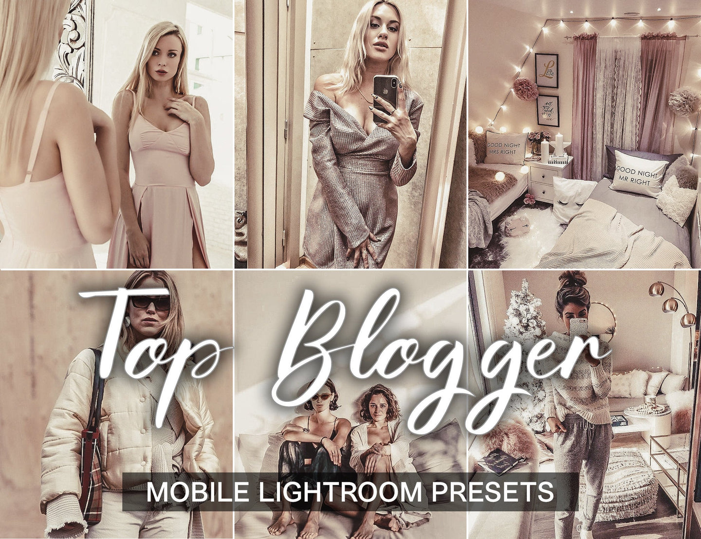 3 Lightroom Presets -  Top Blogger - KatManDooPRESETS