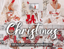 Load image into Gallery viewer, 15 Desktop Presets CHRISTMAS - KatManDooPRESETS