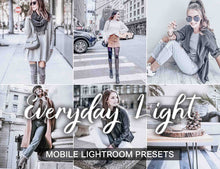 Load image into Gallery viewer, 15 Mobile Presets EVERYDAY LIGHT - KatManDooPRESETS