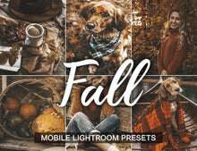 Load image into Gallery viewer, 15 Mobile Presets FALL - KatManDooPRESETS