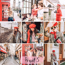 Load image into Gallery viewer, 15 Presets Desktop Red in the City - KatManDooPRESETS