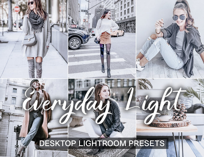 15 Presets Desktop EVERYDAY LIGHT - KatManDooPRESETS