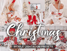 Load image into Gallery viewer, 15 Mobile Presets CHRISTMAS - KatManDooPRESETS