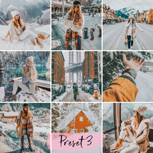 Load image into Gallery viewer, 15 Mobile Presets SNOWY - KatManDooPRESETS