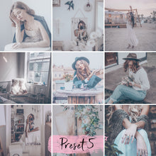 Load image into Gallery viewer, 15 Presets Desktop BOHEMIAN - KatManDooPRESETS