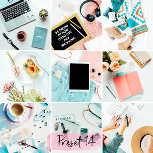 15 Mobile Presets FLAT LAY