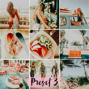 5 Desktop Presets TROPICAL