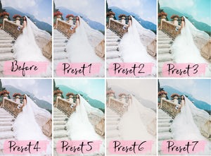 15 Desktop Presets WEDDING