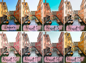 15 Mobile Presets EUROPE