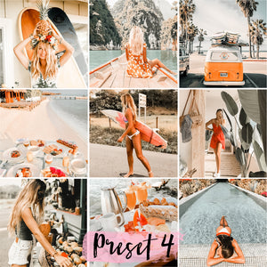 5 Mobile Presets TROPICAL
