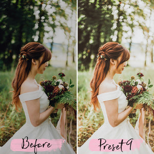 15 Mobile Presets WEDDING