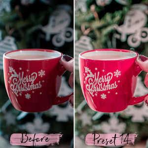 15 Desktop Presets CHRISTMAS