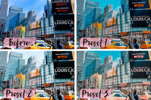 3 Mobile Presets NEW YORK