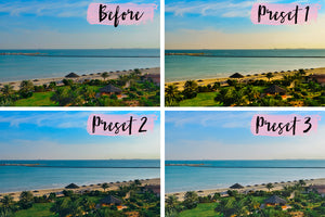 3 Mobile Presets PARADISE