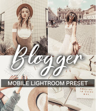 Load image into Gallery viewer, 1 Mobile Preset BLOGGER
