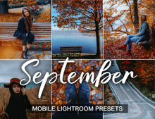 Load image into Gallery viewer, 15 Mobile Presets SEPTEMBER