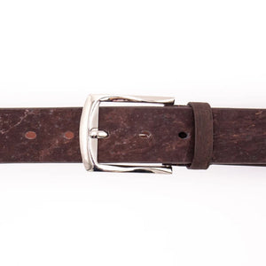 Men's Brown Cork Belt