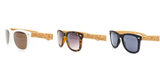 Sunglasses with UV Protection including Cork Case