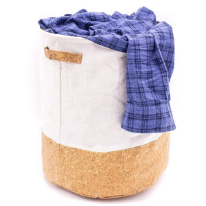 Cork versatile Hamper Bin for Laundry Toys Storage Laundry