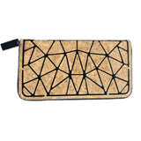 Geometric Cork wallet