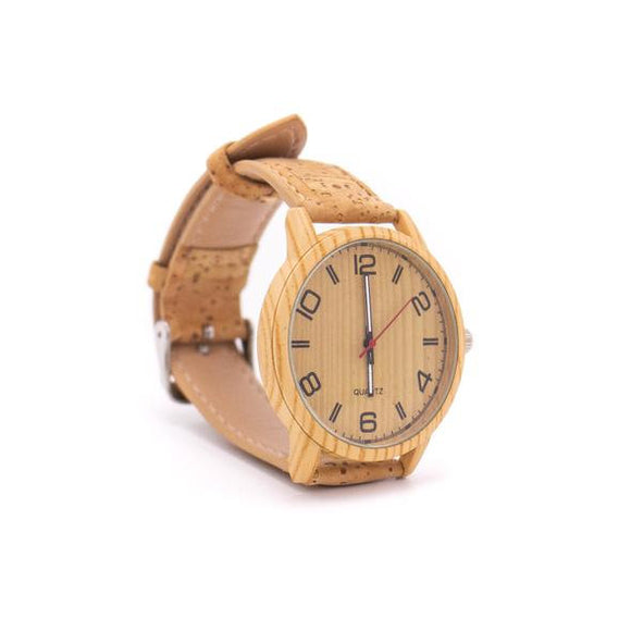 Unisex Cork Watch
